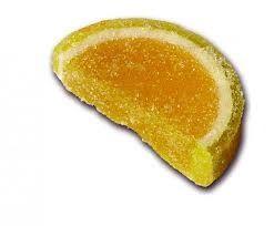 Želé bonbóny - citrony a pomeranče