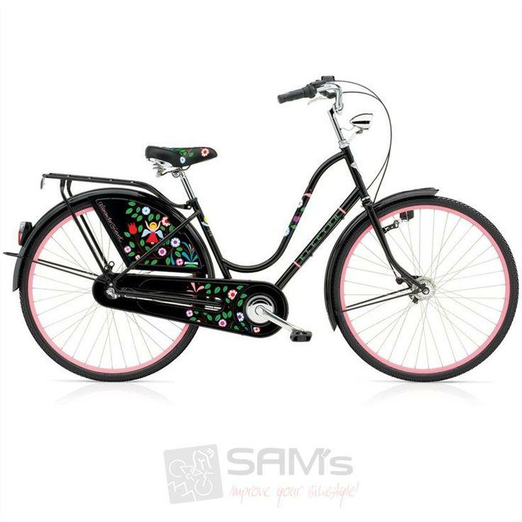 electra amsterdam classic 3i | Details zu Electra Amsterdam Classic 3i Tree of Life Girard Fahrrad ...