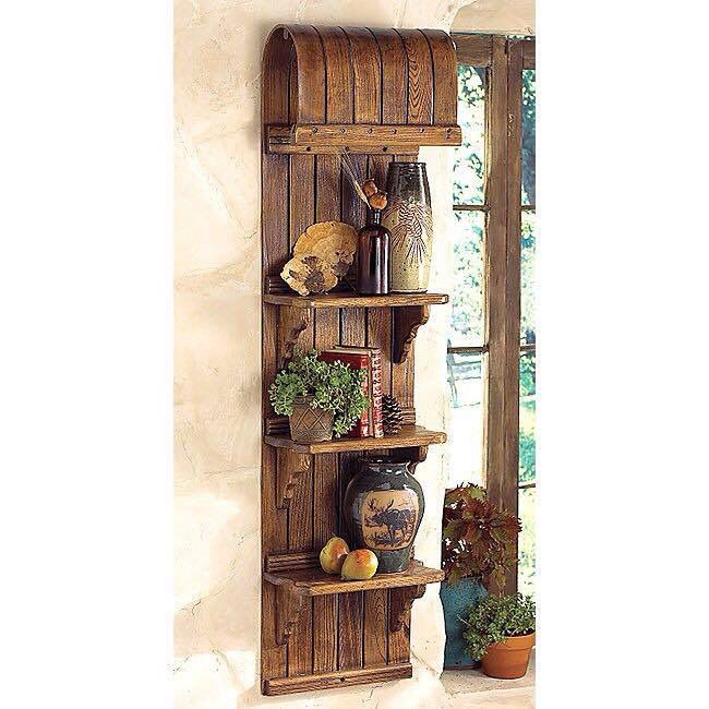 Repurposed Wooden Toboggan Feeding The Home Pinterest