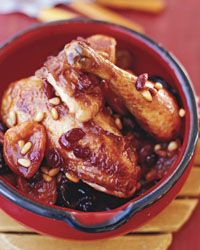 ... Chicken with Dried Fruit and Pine Nuts Contributed by Ferran Adria
