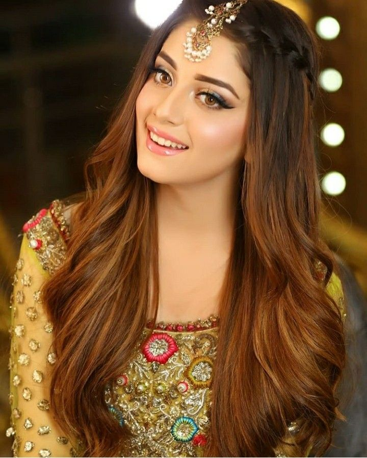 That Smile L Kill You Alizeyshah Hair Styles Indian Wedding Hairstyles Engagement Hairstyles
