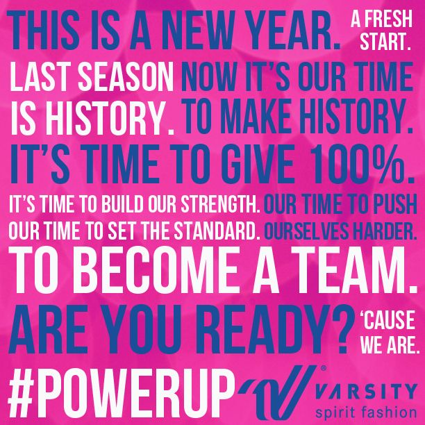 motivational quotes to cheer team varsity sideline