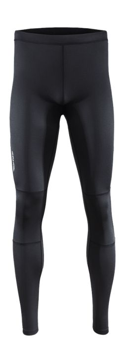 Men's training pants with Dry System technology, responsible for the quick moisture absorption during exercise. Tailored cut will underline the shapes and a back pocket with zipper makes it easy to carry a key or phone in the gym.   Benefits: -reflective elements, increasing visibility -additional pockets -Quick Dry Finishing