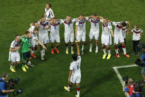 Top Five Teams in #FIFAWorld Cup 2014