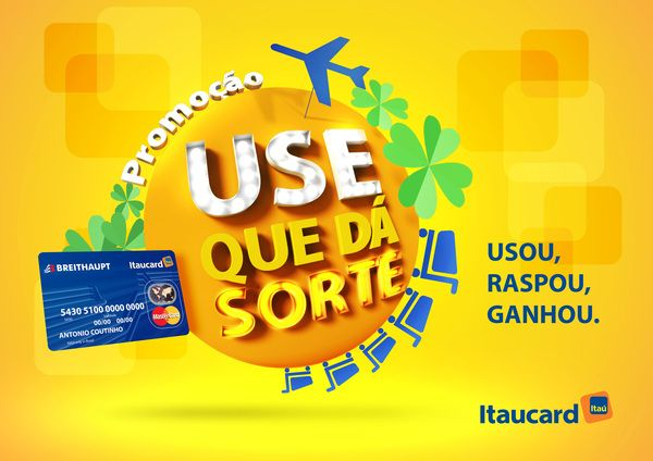 Proposta Selo Promoção - Itaucard by Andre Lopes, via Behance