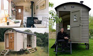 The Camerons have spent £25,000 on a luxury shepherd's hut for the back garden in their Cotswolds house, which ex-PM David says he wants to use as a book-writing room.