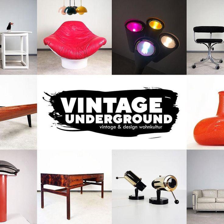 Cool Coming soon Vintage Underground der Showroom in K ln f r Wohnkultur des Jahrhunderts