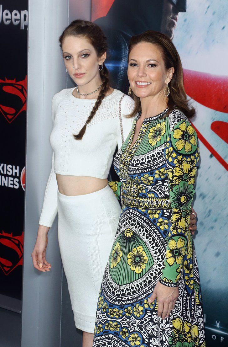 Pin for Later: Diane Lane Brings Her Look-Alike Daughter to the Batman v Superman Premiere