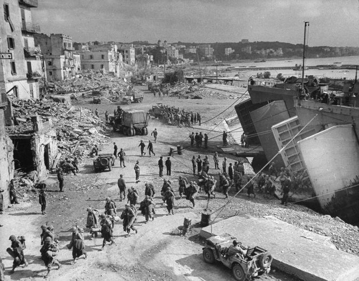 Gli Alleati ad Anzio - WWII - Seconda Guerra Mondiale