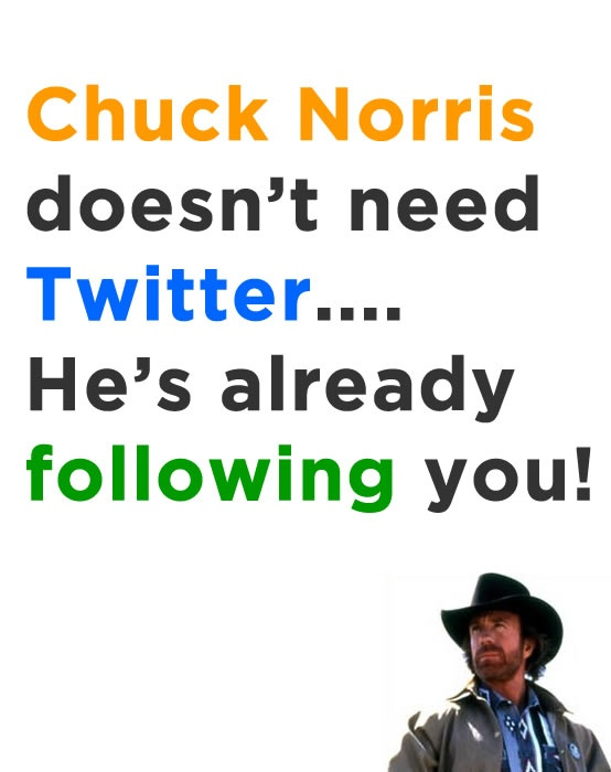 Chuck Norris                                                                                                                                                                                 More