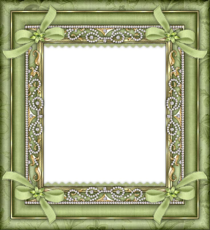 Green Transparent Frame