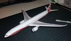 Boeing 777-8X/9X Free Airplane Paper Model Download