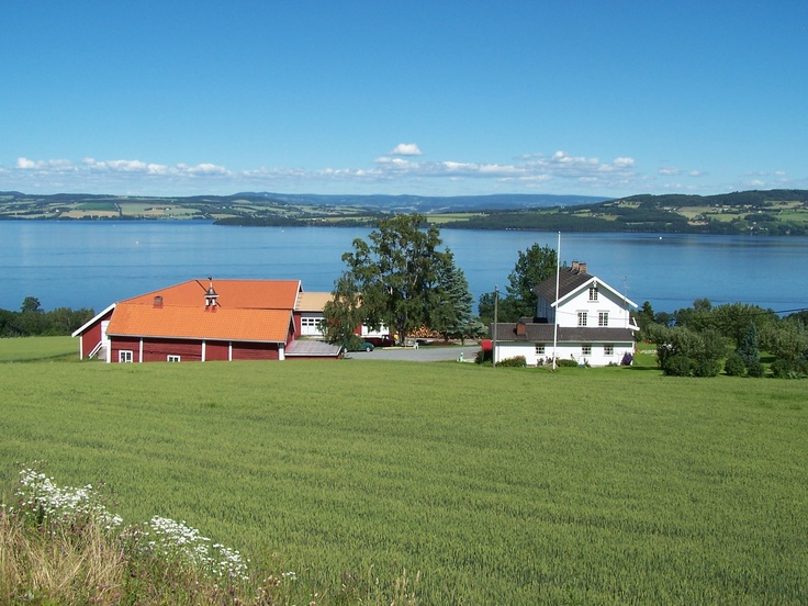 Østre Toten, Norway - this is where my parents both grew up. Beautiful area!