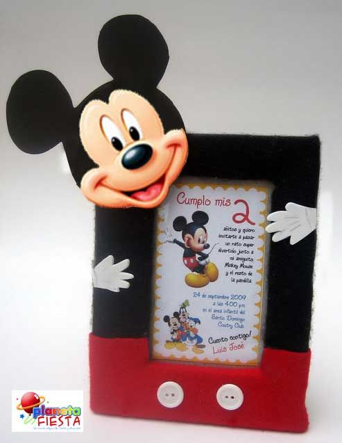 Porta retrato Mickey Mouse