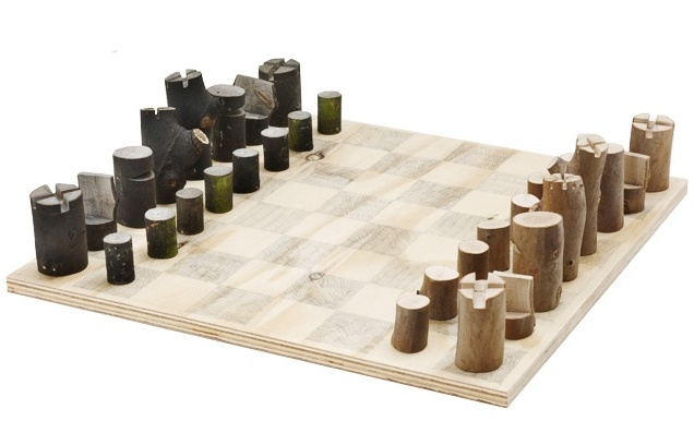 14 best images about chess sets on pinterest english olives and turned wood - Simple chess set ...