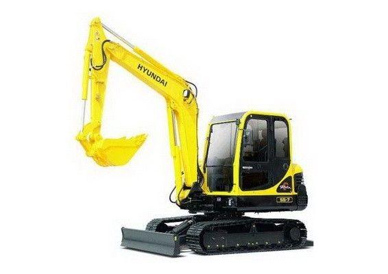 Hyundai R55 7 Mini Crawler Excavator Service Manual Hyundai Excavator Repair And Maintenance