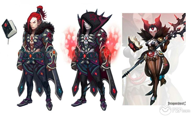Dragon Nest new concept arts
