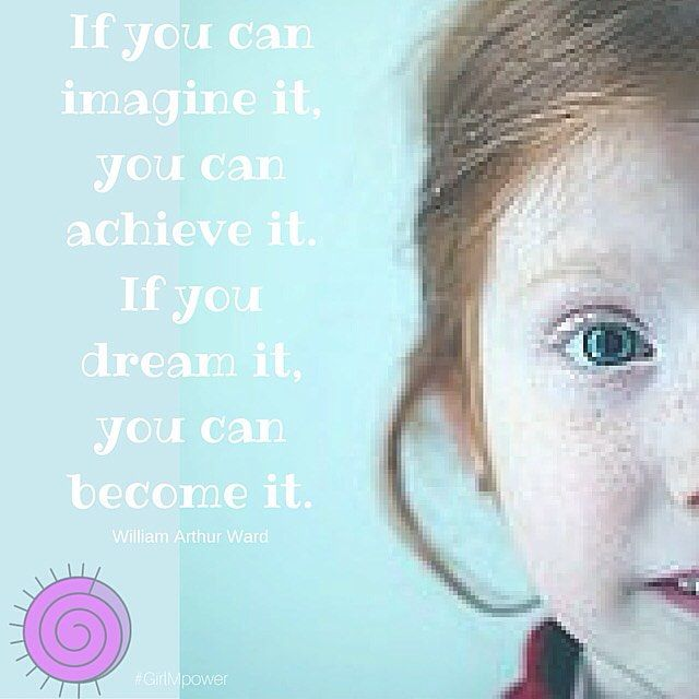 No dreamer is ever too small; no dream is ever too big. #girlmpower | girlmpower.com.au >>> Please Pin Now and Be Inspired Later <<<