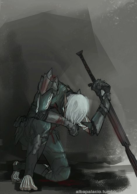 """albapalacio: """" """"""""You can´t tame the Wolf"""" """" I have been drawing in my notebook happy Fenris and I needed this days a stubborn Fenris refusing to fall and fighting, to the misfortune of his..."""