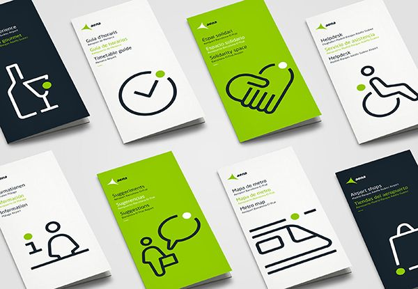 Aena - Visual Language on Behance