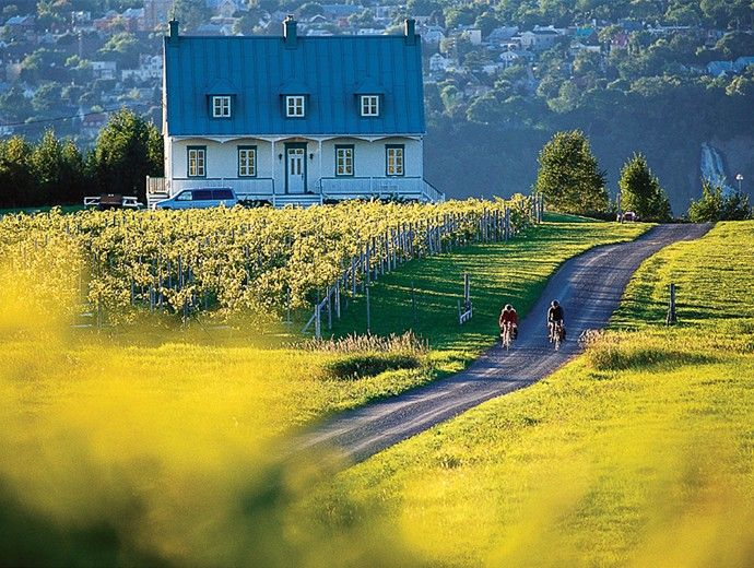 Île D'Orléans, Quebec, Canada http://www.quebecregion.com/en