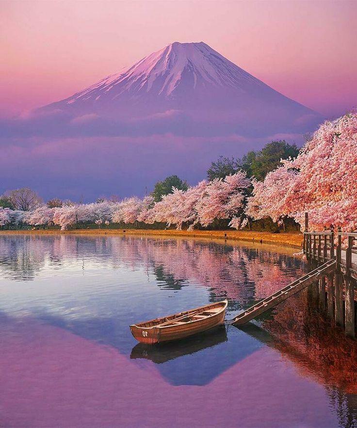 картинка япония пейзаж что-то