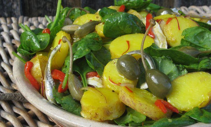 Saffron Potato Salad