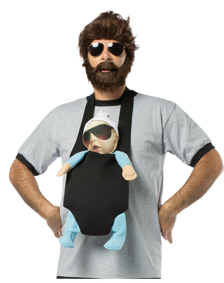 the hangover alan baby carrier costume hangover alan costume movie costume halloween funny mens costume