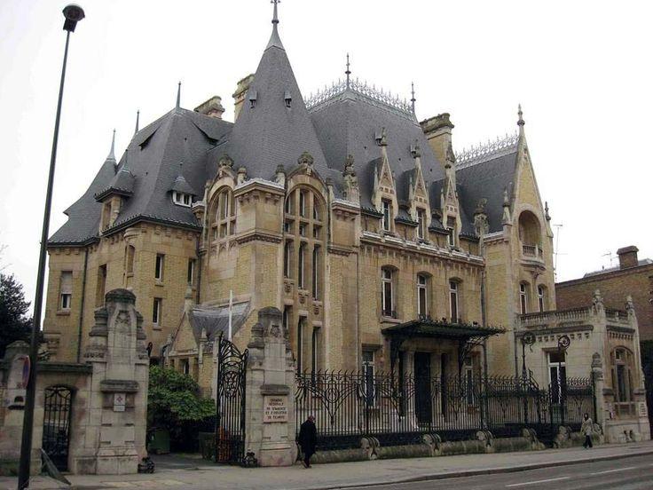 Les 458 meilleures images propos de art nouveau paris nancy grenoble l - Hotel particulier metz ...
