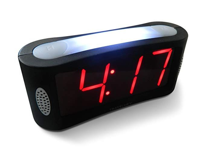 Travelwey Home Led Digital Alarm Clock Outlet Powered No Frills Simple Operation Large Night Light Alarm Digital Alarm Clock Alarm Clock Loud Alarm Clock