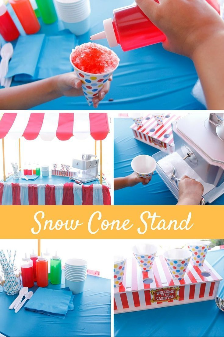 Best Diy Crafts Ideas  : Summer and snow cones go hand-in-hand and now you can make this fun DIY snow co