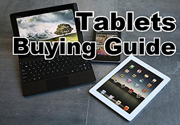 Just in time for the holidays! Tablets Buying Guide from CNET.