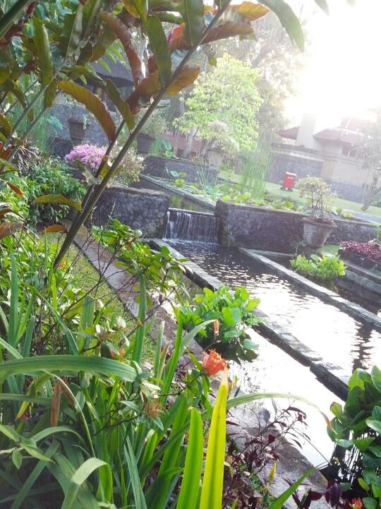 Bali. Intercontinental hotel & resort. Garden.