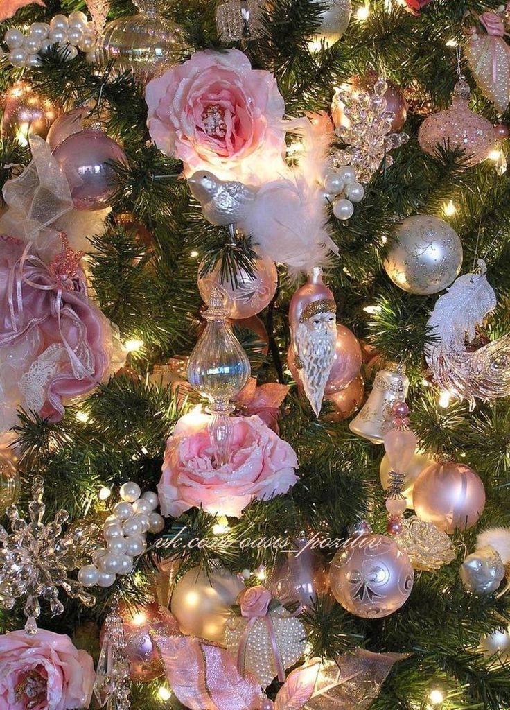 Картинки с цветами новогодние