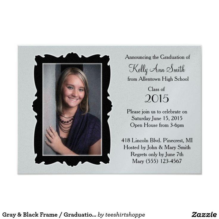 9 best Zazzle Graduation Party Invites Announcement Designs by – Zazzle Graduation Invitations