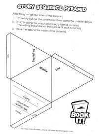 story pyramid template - 17 best images about story sequencing on pinterest