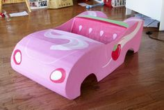the things hannah loves: How to build a Strawberry Shortcake Car!