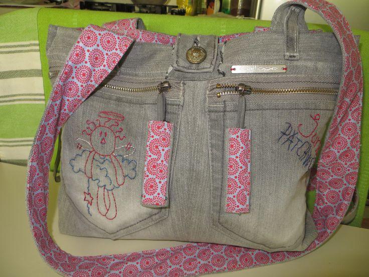 Cute Jeans Bag :)