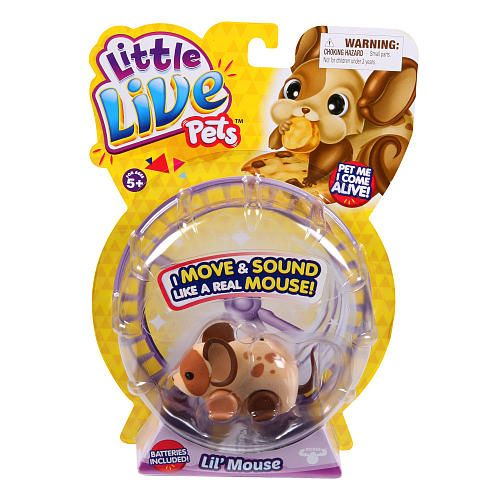 Little Live Pets Single Pack Mouse Crumb Moose Toys Toys R