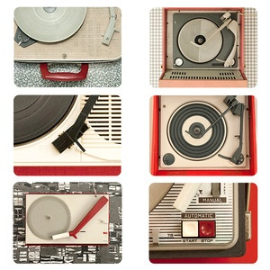 PorTables Tablemats Set Of 6, £37, now featured on Fab.  For the music Lover!