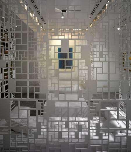 Lattice Like Interiors Art Spacesroom Dividersroom