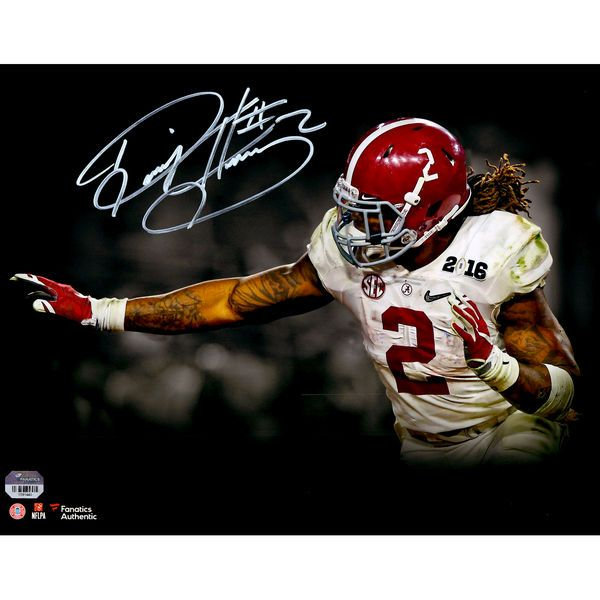 "Derrick Henry Alabama Crimson Tide Fanatics Authentic Autographed 11"" x 14"" Heisman Pose Spotlight Photograph - $139.99"
