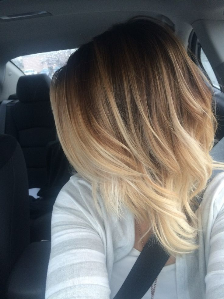 this creamy blonde balyage ombre is a great low maintaince. Black Bedroom Furniture Sets. Home Design Ideas