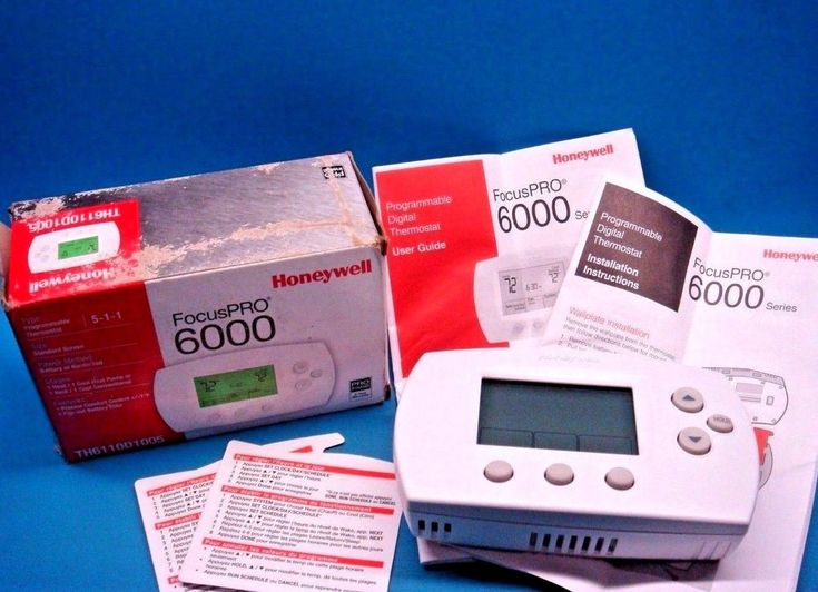 how to set honeywell home thermostat temperature
