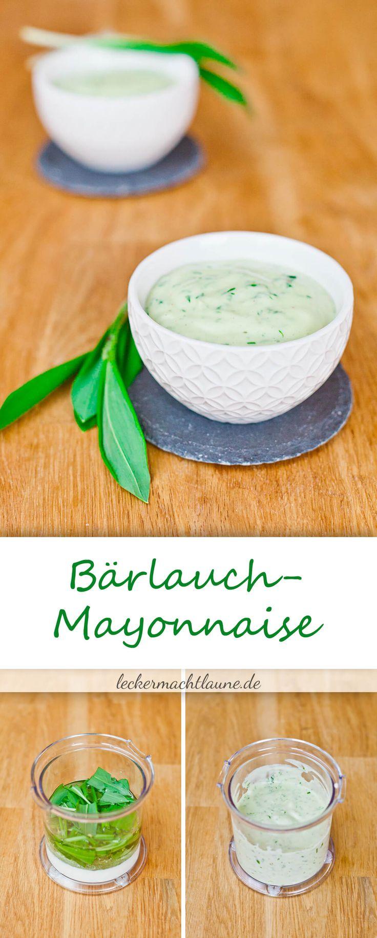 Bärlauch-Mayo {bärlauchsaison}