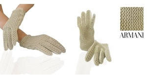Gloves by Armani: napa leather | Answer a few questions, reduce the price and buy! | The price? You choose!