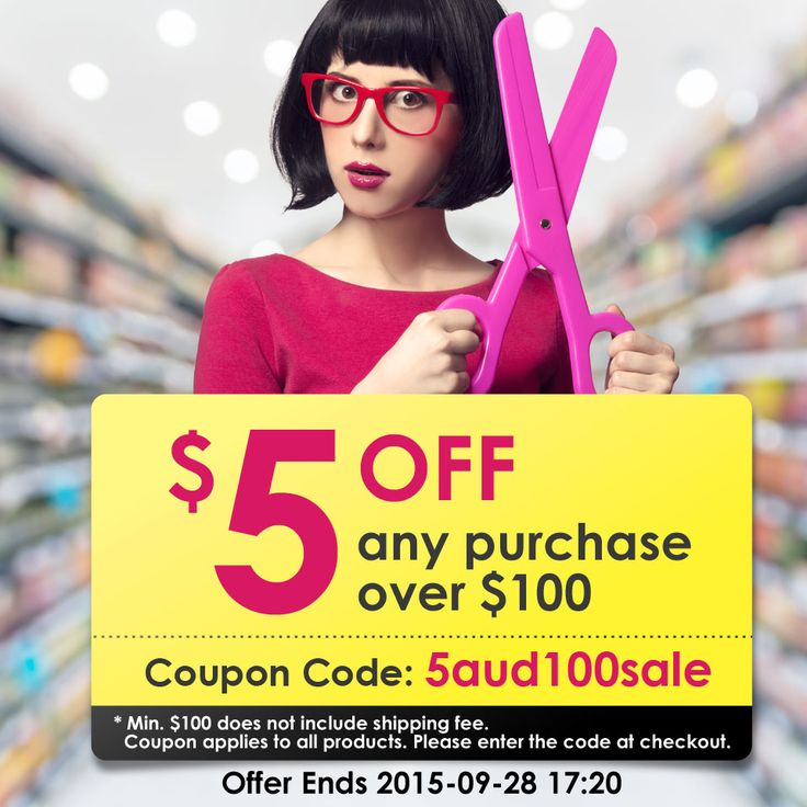 Fans exclusive coupon code 5aud100sale takes effect: $5 off any purchase over $100. #coupons #bargains #deals