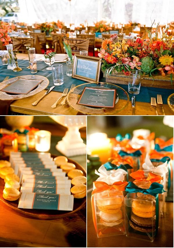 Best 20+ Teal orange weddings ideas on Pinterest   Fall ...