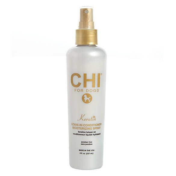 Chi For Dogs Keratin Leave In Conditionder Moisturizing Spray Spray Moisturizer Waterless Shampoo Detangler Spray