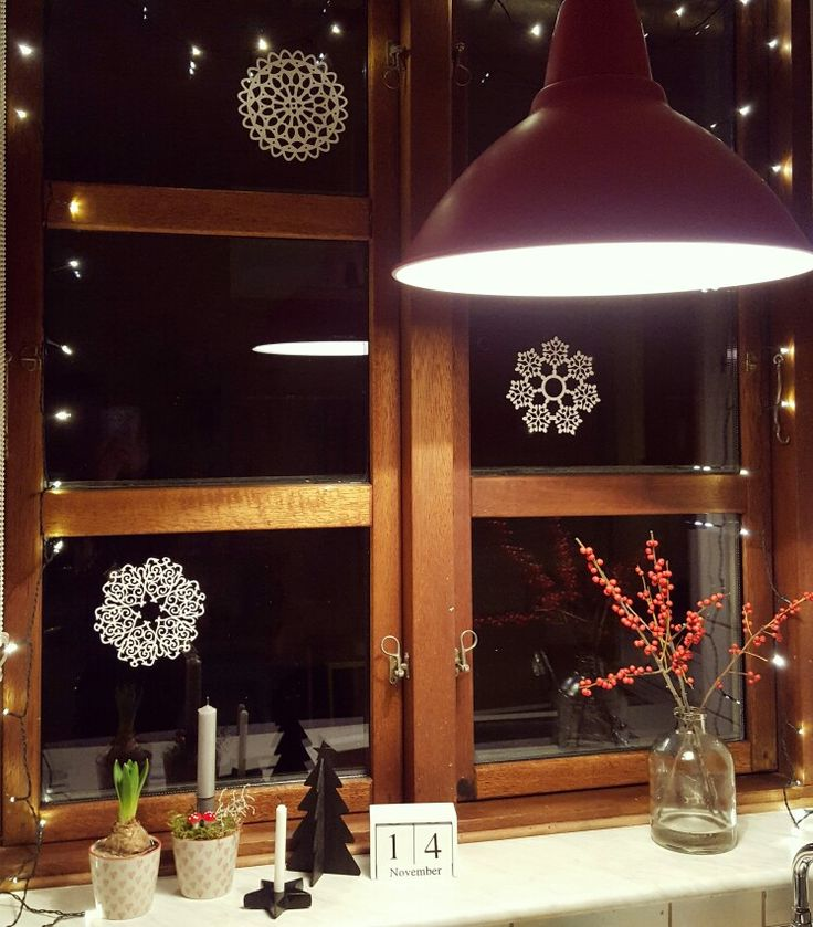 Christmas window ❄️❄️❄️